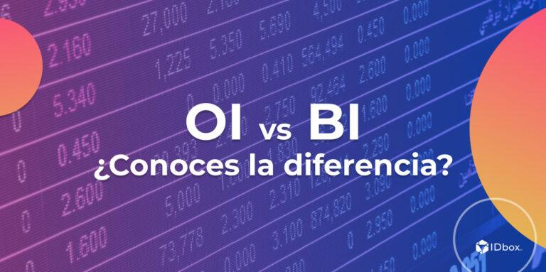 La diferencia entre la Inteligencia Operacional (OI) y la Inteligencia de Negocio (BI)